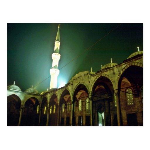 Mezquita, Estambul Tarjetas Postales