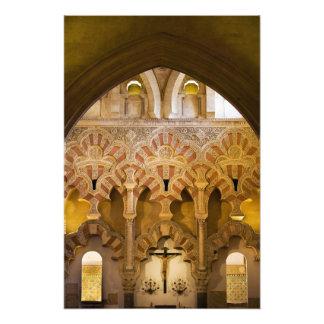 Mezquita Interior Islamic Architecture Photo Print