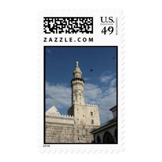 Mezquita Siria - al-Amawi de Ummayad Franqueo