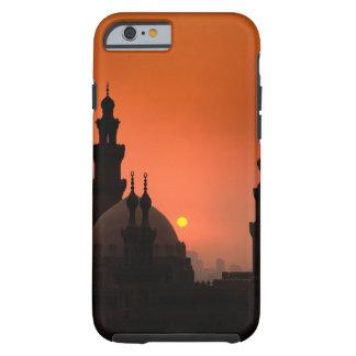 Mezquitas en la puesta del sol funda de iPhone 6 tough