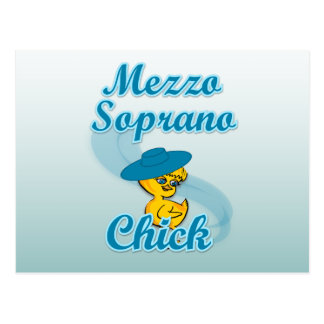 Mezzo Soprano Chick #3 Postcard