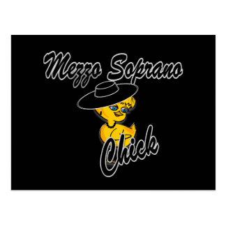 Mezzo Soprano Chick #4 Postcard