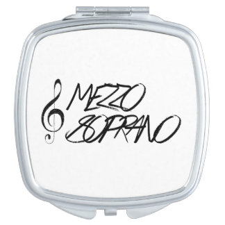 Mezzo Soprano Compact Mirror