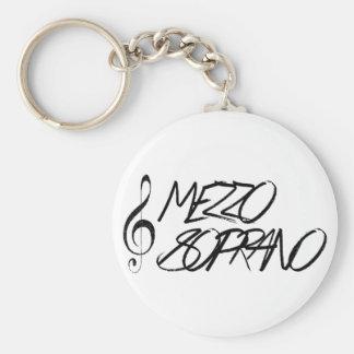 Mezzo Soprano Keychain