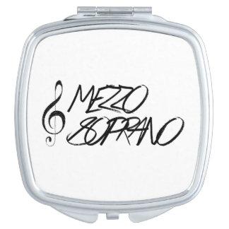 Mezzo Soprano Compact Mirrors