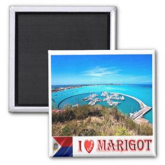 MF - Saint Martin - Marigot - I Love Magnet