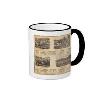 Mfg co, campos petrolíferos tazas de café