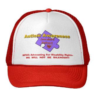 MFH2 TRUCKER HAT - 1puzzlepieceforhatpurple