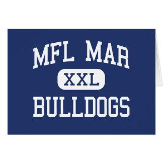 MFL marcha - dogos - High School secundaria - Mono Felicitaciones