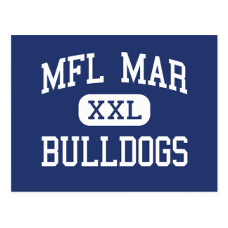 MFL marcha - dogos - High School secundaria - Postal