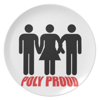 MFM Poly Proud Dinner Plate