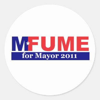 Mfume for Mayor Stickers