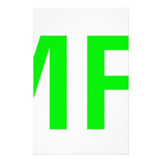 MFW CUSTOMIZED STATIONERY