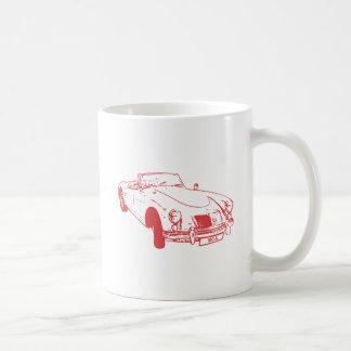 MG A Mug red