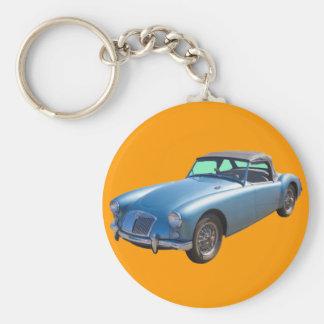 MG Convertible Sportscar Key Chains