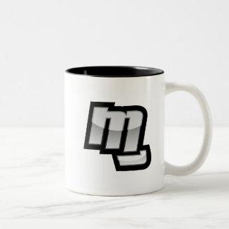 MG Fist Symbol Two-Tone Coffee Mug