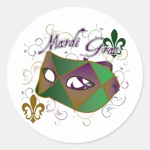 MG_generic4 Classic Round Sticker