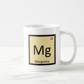 Mg - Margarine Chemistry Periodic Table Symbol Coffee Mug