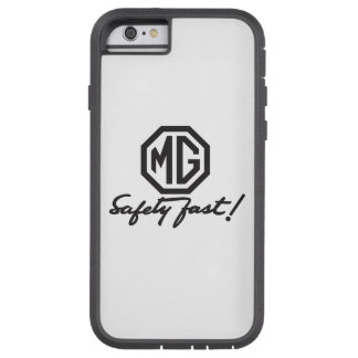MG Safety Fast Logo Tough Xtreme iPhone 6 Case