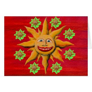 MG Sunshine Greeting Card