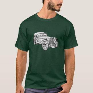 Mg Tc Antique sports Car Illustration T-Shirt
