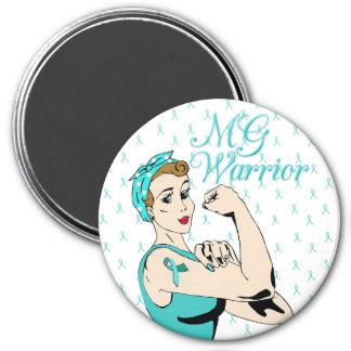 MG Warrior Myasthenia Gravis Warrior Magnet