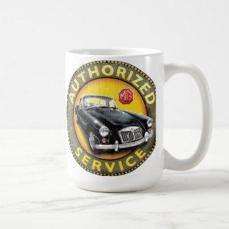 MGA coupe authorized service sign Coffee Mug