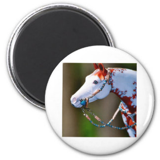 MGA ITS REALLY ME TURQ BIT LEFT PROFILE 2 INCH ROUND MAGNET