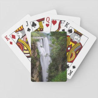 Mgawa Falls, Near Lusikisiki, Wild Coast Playing Cards