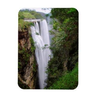 Mgawa Falls, Near Lusikisiki, Wild Coast Rectangular Photo Magnet