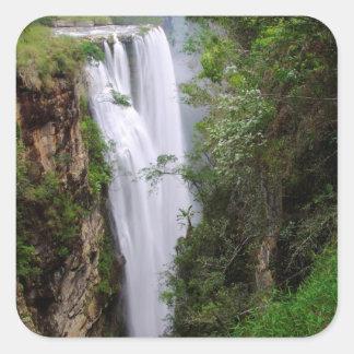 Mgawa Falls, Near Lusikisiki, Wild Coast Square Sticker
