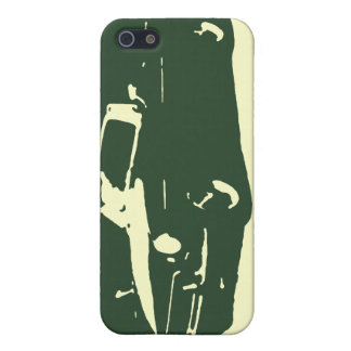 MGB, 1971 - Racing Green on light case Cases For iPhone 5