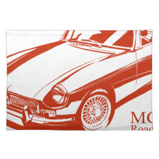 MGB CLOTH PLACEMAT
