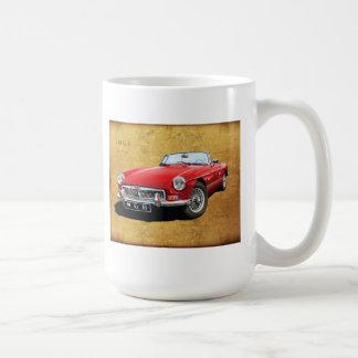 Mgb the superlative roadster coffee mug