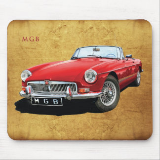 Mgb the superlative roadster mouse pad