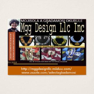 MGG DESIGN LLC INC BUSINESS CARD