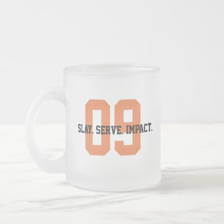 MGL Cuppa - Goal #9: Industry, Innovation & Infras Frosted Glass Coffee Mug