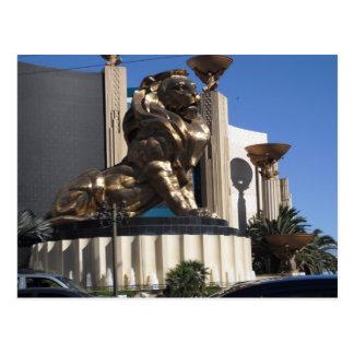 MGM Lion Postcard