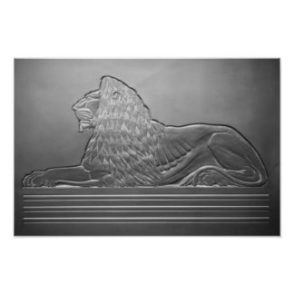 MGM Lowes Lion Poster