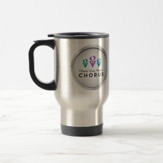 MGMC Logo 15 oz Stainless Steel Travel Mug