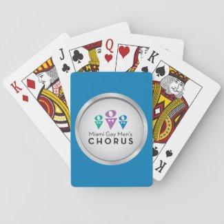MGMC Logo Playing Cards - Blue