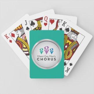 MGMC Logo Playing Cards - Teal
