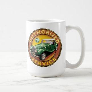 mgtf vintage service sign coffee mug