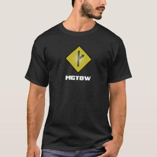 MGTOW Symol on black T-Shirt