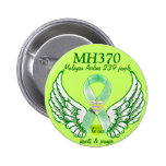 MH370-Forever in our hearts & prayers_ Buttons