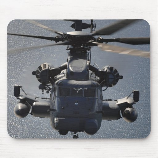 MH-53 Pave Low Helicopter Mouse Pad