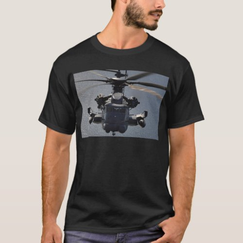 MH_53 Pave Low Helicopter T_Shirt