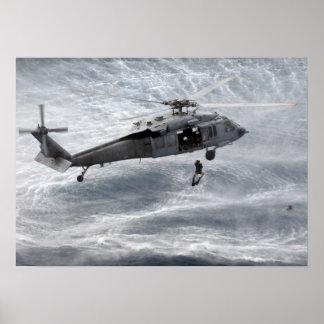 MH-60 Knighthawk Poster