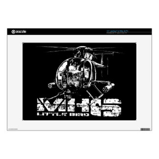 MH-6 Little Bird Decal For Laptop Laptop Decals
