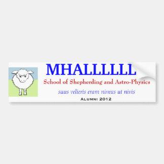 MHALLLLLLU Bumper Sticker